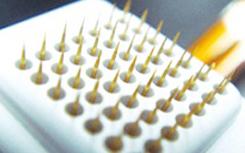 治疗过程中可以自由调整针的长度